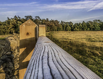 Photograph - Wooden Gate by Nick Bywater
