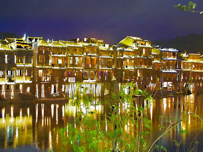 Wooden Houses 1 Art Print by Lanjee Chee