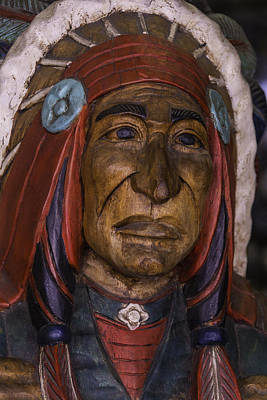 Photograph - Wooden Indian New Orleans by Garry Gay