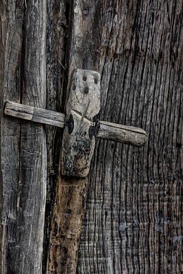 Photograph - Wooden Locks by Edgar Laureano