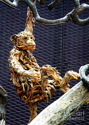 Photograph - Wooden Monkey by Randall Weidner