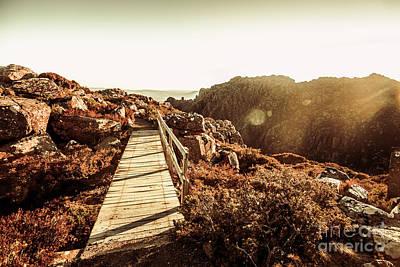Tourism Wall Art - Photograph - Wooden Mountain Paths by Jorgo Photography - Wall Art Gallery