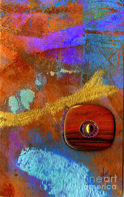 Mixed Media - Wooden Mystery by Angela L Walker