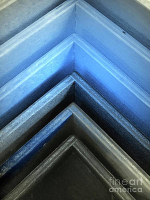 Photograph - Wooden Pattern Abstract by Tom Gowanlock