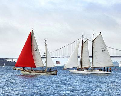 Sports Photograph - Wooden Ships On The Water by Scott Cameron