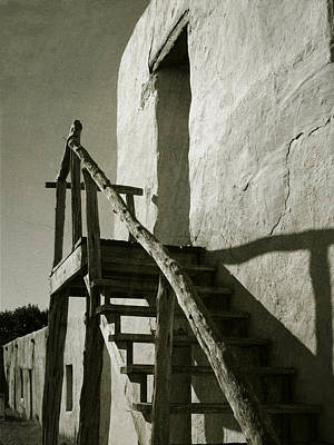 Photograph - Wooden Stairs by Charles McKelroy