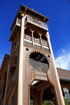 Photograph - Wooden Tower by Milena Ilieva