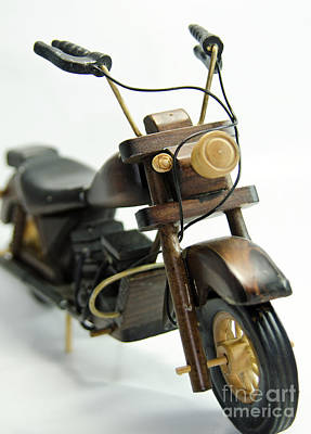 Photograph - Wooden Toys by Wilma Birdwell