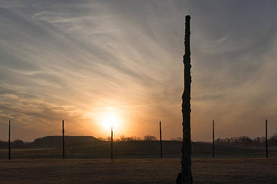 Photograph - Woodhenge Equinox by Scott Rackers