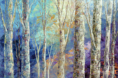 Painting - Woodland Breezes by Tatiana Iliina