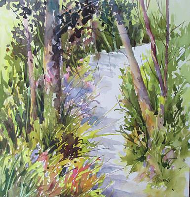 Painting - Woodland Display by Rae Andrews