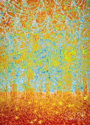 Digital Art - Woodland Dreams-no1 by Darla Wood