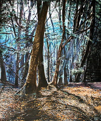 Painting - Woodland by Michel Angelo Rossi