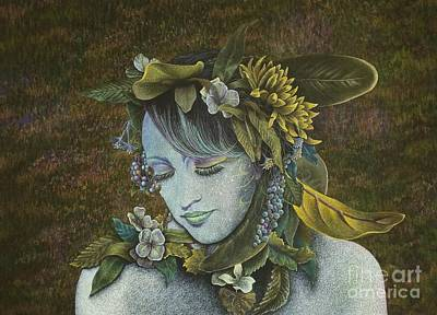 Painting - Woodland Nymph by Lisa Bliss Rush
