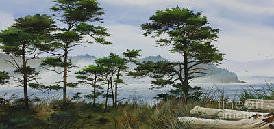 Painting - Woodland Seashore by James Williamson