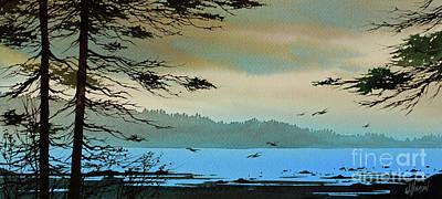 San Juan Painting - Woodland Shore by James Williamson