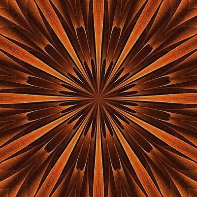 Woodland Spirits Mandala Art Print by Doug Morgan