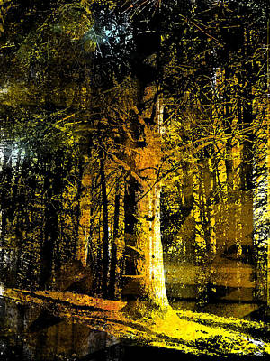 Painting - Woodland Tapestry by Paul Sachtleben