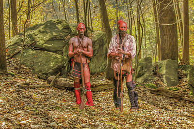 Digital Art - Woodland Warriors  by Randy Steele