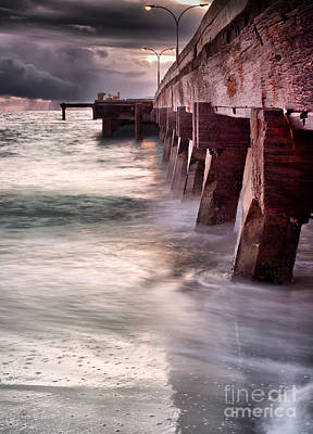 Photograph - Woodman Point Jetty by Kym Clarke