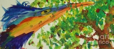 Woodpecker Art Print by Jamey Balester