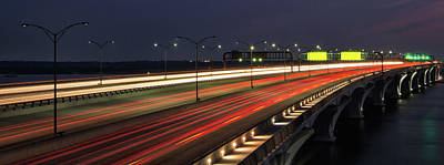 Photograph - Woodrow Wilson Bridge by Art Cole