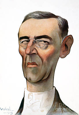 Drawing - Woodrow Wilson by Granger
