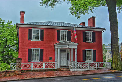 Photograph - Woodrow Wilson's Birthplace by Mike Martin