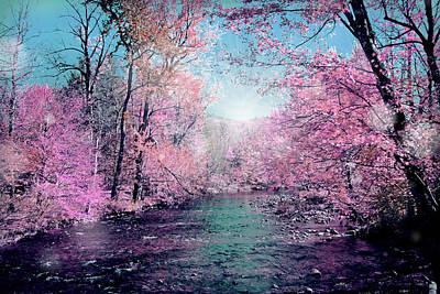 Soft Digital Art - Woods 4 by Mark Ashkenazi
