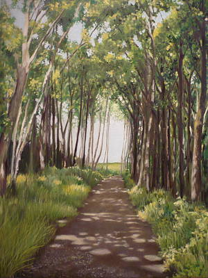 Painting - Woods by Caroline Philp