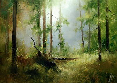 Painting - Woods Fairytale by Igor Medvedev