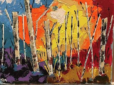 Painting - Woods by Jim McCullaugh