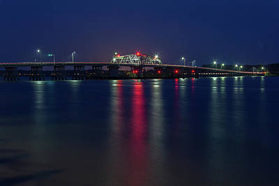 Photograph - Woods Memorial Bridge by Kenny Thomas