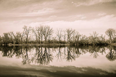 Photograph - Woods Of Wayne On Reflection by Joni Eskridge