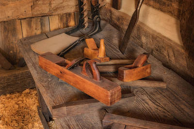 Photograph - Woodsmith Tool Hermann Farm Mo_dsc2781_16 by Greg Kluempers