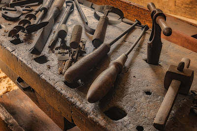 Photograph - Woodsmith Tools Hermann Farm Mo_dsc2772_16 by Greg Kluempers