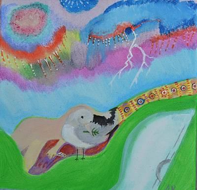 Woodstock 69 The Rain Original by Antonio Raul