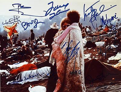 Woodstock Album Cover Signed Art Print