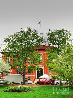 Photograph - Woodstock Courthouse by David Bearden