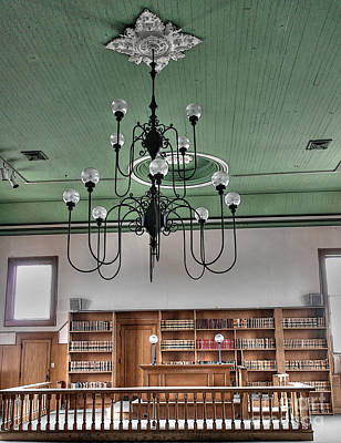 Photograph - Woodstock Courtroom by David Bearden