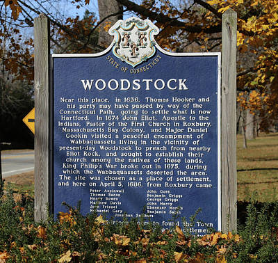 Stellar Interstellar - Woodstock CT History by Imagery-at- Work