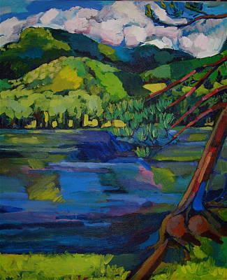 Painting - Woodstock by Doris  Lane Grey