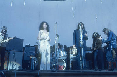 Grace Slick Photograph - Woodstock Jefferson Airplane With Grace Slick by Jason Laure