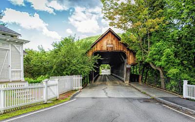 Photograph - Woodstock Middle Bridge by John M Bailey