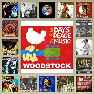 Photograph - Woodstock Remembered  by John S