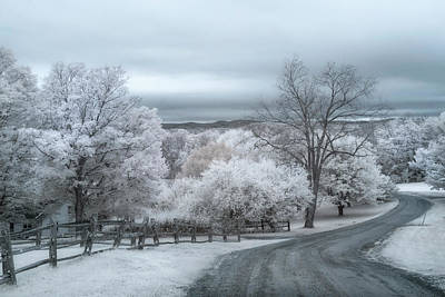 Photograph - Woodstock, Vermont In Infrared by Joann Vitali