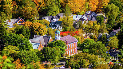 Photograph - Woodstock Vermont by Scenic Vermont Photography