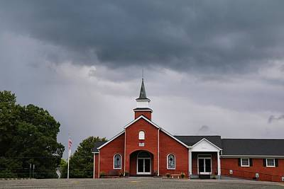 Photograph - Woodville Baptist Church by Kathryn Meyer