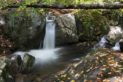 Photograph - Woodward Falls-2 by Joye Ardyn Durham