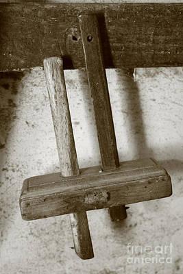 Woodworking Tool Print by Gaspar Avila